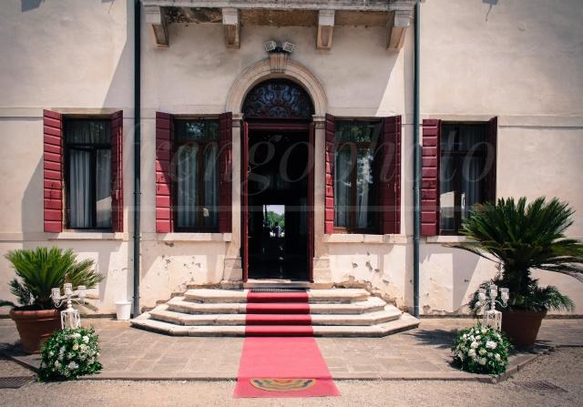 Ingresso Villa Sagredo