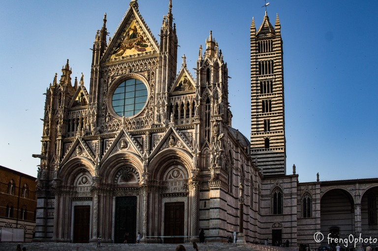 The dome of Siena