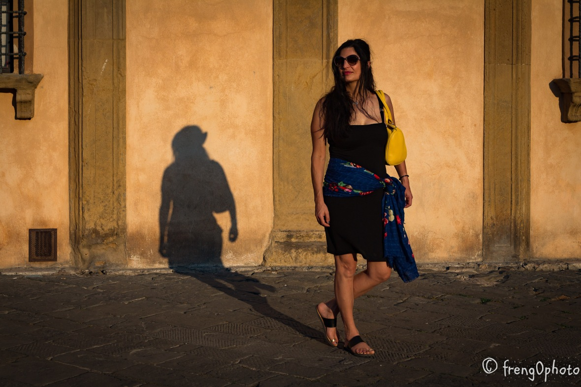 Portrait session in Siena