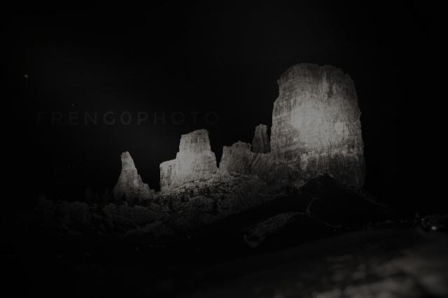 5 torri di notte, Cortina Italia